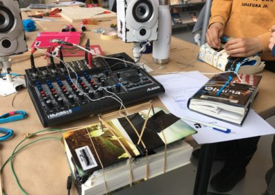 07.03.20 Hack the Book, Piezo - Techniklabor Stadtbibliothek Luzern