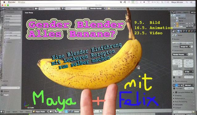Gender Blender – Alles Banana?