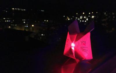 Origami LED Lampions