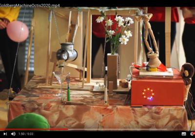 12.03.20 Rube Goldberg Maschine - Studiengang Digital Ideation HSLU