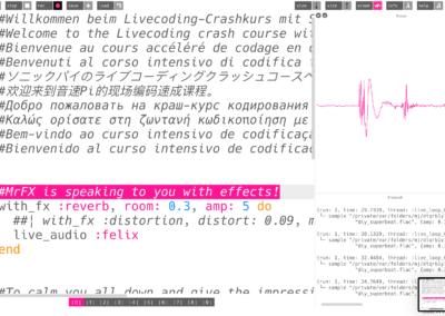 19.11.2020 Sampling With Sonic Pi - CreaLab und HSLU Online